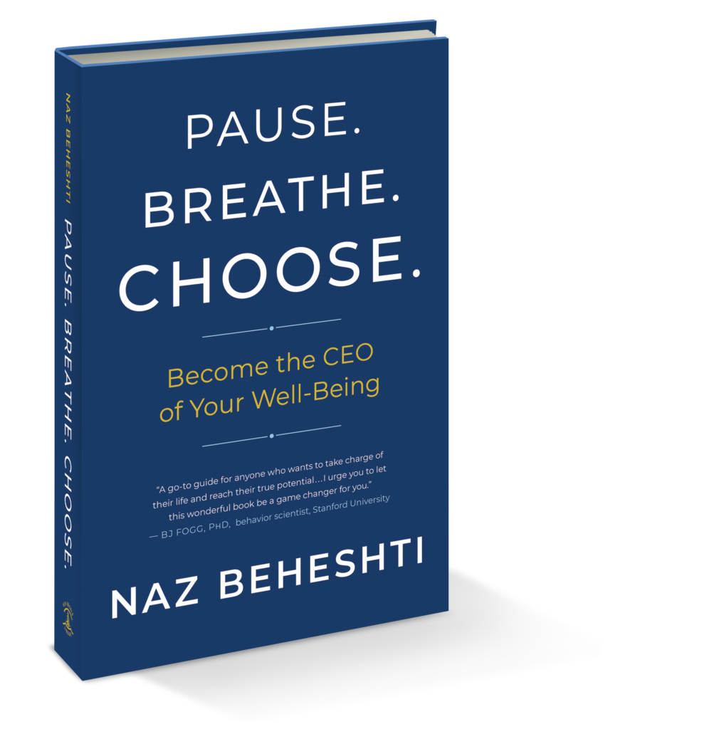 Pause. Breathe. Choose Book Cover